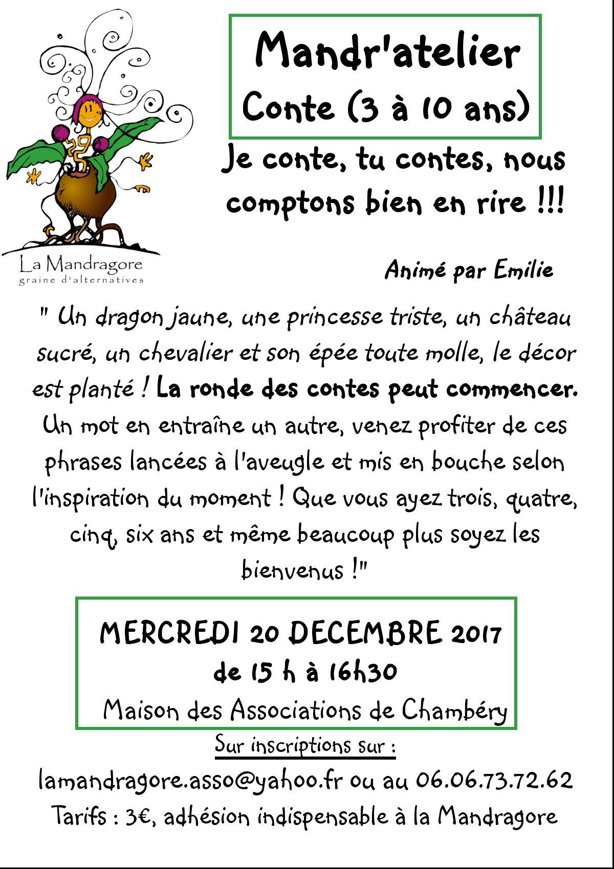 Mandr'atelier - Conte - 20 12 2017