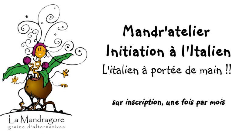 Mandr'atelier Cours d'Initiation à l'Italien