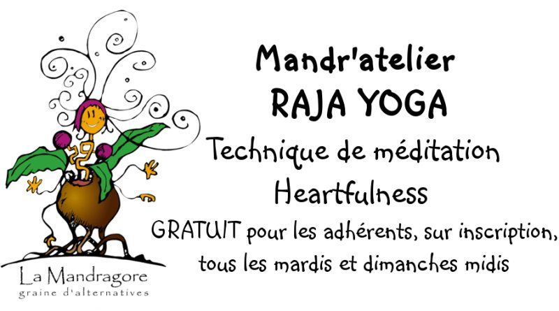 Mandr'atelier RAJA Yoga – Méditation Heartfulness