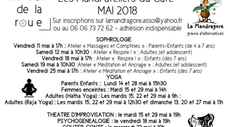 Mandr'ateliers de MAI 2018